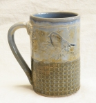 16oz. blue bird mug